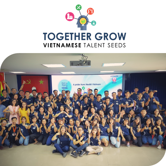 Together Grow Vietnamese Talent Seeds