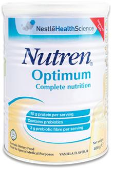 Nutren Optimum | Nestlé Việt Nam - Sống Vui Khoẻ